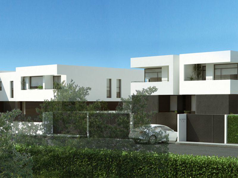 viviendas 4 viviendas unifamiliares en las rozas madrid